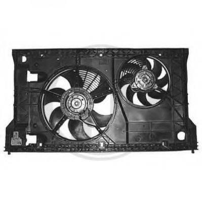 DIEDERICHS 8448614 Вентилятор, охлаждение двигателя