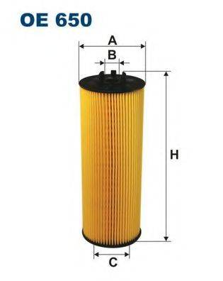 FILTRON OE650 Масляный фильтр