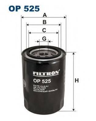 FILTRON OP525 Масляный фильтр