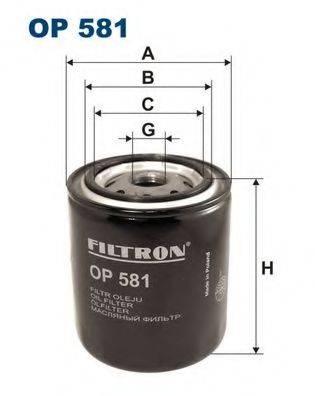 FILTRON OP581 Масляный фильтр