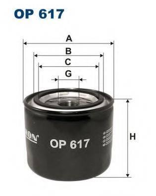 FILTRON OP617 Масляный фильтр