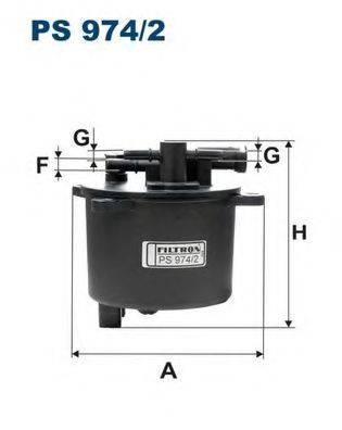FILTRON PS9742 Топливный фильтр