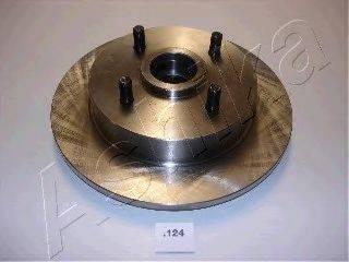 ASHIKA 6101124 Тормозной диск