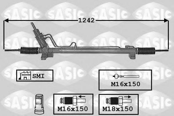 SASIC 7006130 Рулевой механизм