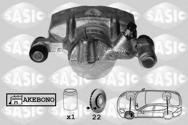 SASIC SCA6584 Тормозной суппорт