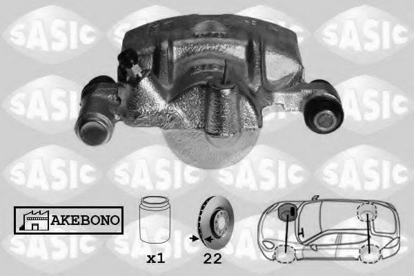 SASIC SCA6585 Тормозной суппорт