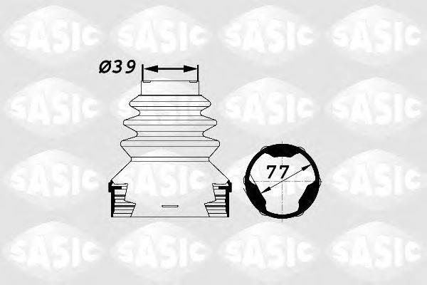 SASIC 1900002 Комплект пылника, приводной вал