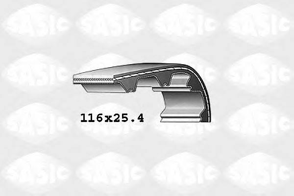 SASIC 1760006 Ремень ГРМ