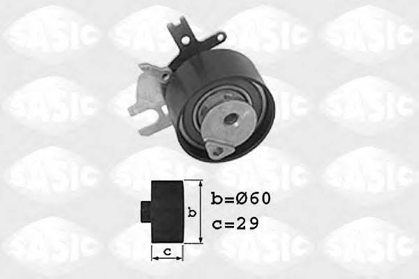 SASIC 1700009 Натяжной ролик, ремень ГРМ