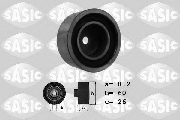 SASIC 1624019 Паразитный / ведущий ролик, поликлиновой ремень