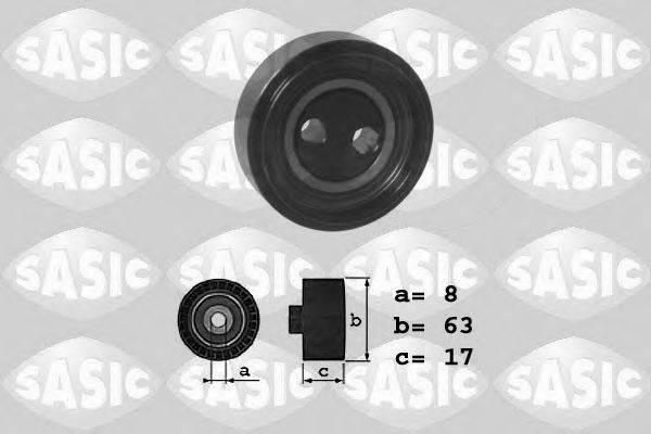 SASIC 1626041 Натяжитель ремня, клиновой зубча