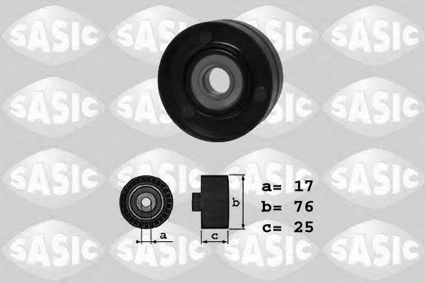 SASIC 1626042 Паразитный / ведущий ролик, поликлиновой ремень
