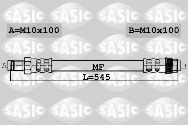 SASIC 6606227 Тормозной шланг