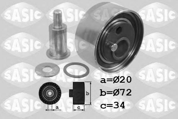 SASIC 1706052 Натяжной ролик, ремень ГРМ