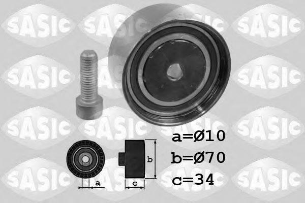 SASIC 1706053 Паразитный / Ведущий ролик, зубчатый ремень