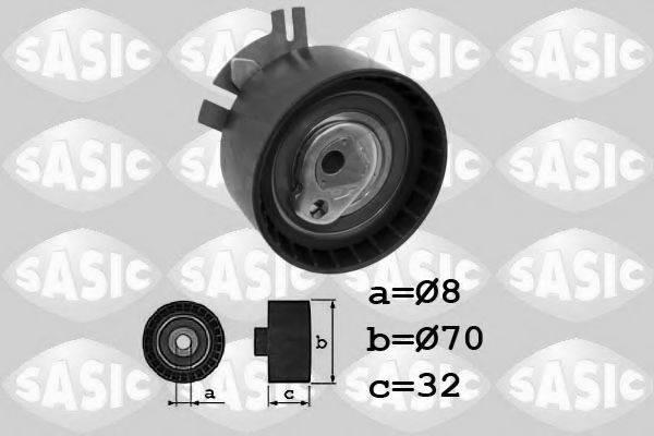 SASIC 1704020 Натяжной ролик, ремень ГРМ