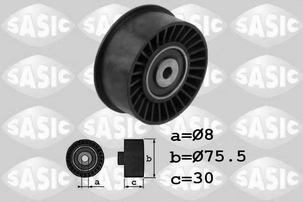 SASIC 1704021 Паразитный / Ведущий ролик, зубчатый ремень
