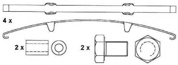 BERAL 2915630004145674 Комплект тормозных колодок, дисковый тормоз