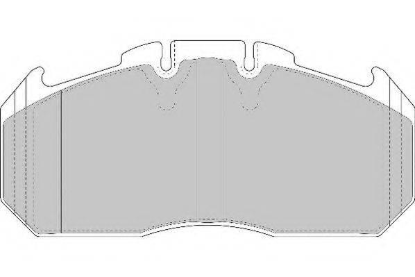 BERAL 2915630004145684 Комплект тормозных колодок, дисковый тормоз