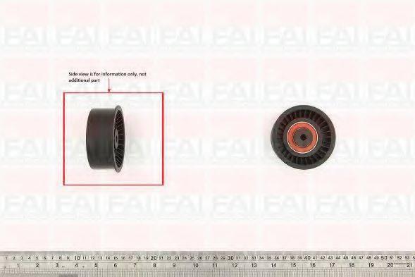 FAI AUTOPARTS T9501 Паразитный / Ведущий ролик, зубчатый ремень