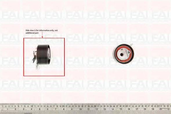 FAI AUTOPARTS T9776 Натяжной ролик, ремень ГРМ