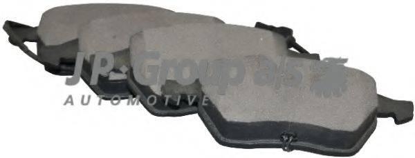 JP GROUP 1163602510 Комплект тормозных колодок, дисковый тормоз