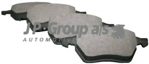 JP GROUP 1163604810 Комплект тормозных колодок, дисковый тормоз