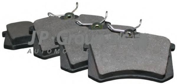 JP GROUP 1163705310 Комплект тормозных колодок, дисковый тормоз
