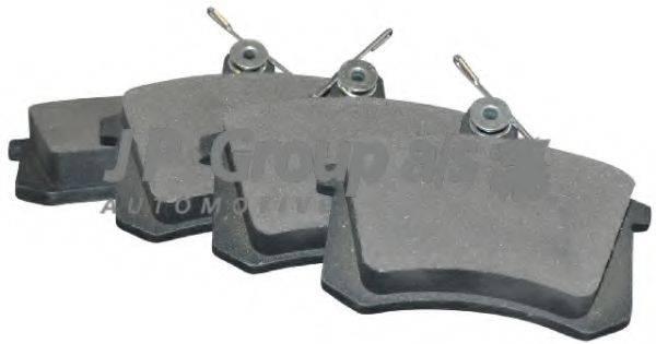 JP GROUP 1163705810 Комплект тормозных колодок, дисковый тормоз