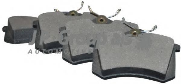 JP GROUP 1163706310 Комплект тормозных колодок, дисковый тормоз