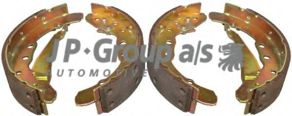 JP GROUP 1163900810 Комплект тормозных колодок