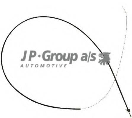 JP GROUP 1170700900 Тросик замка капота