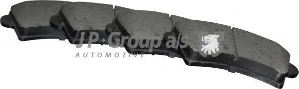 JP GROUP 1263603610 Комплект тормозных колодок, дисковый тормоз