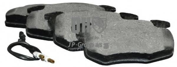 JP GROUP 4163602819 Комплект тормозных колодок, дисковый тормоз