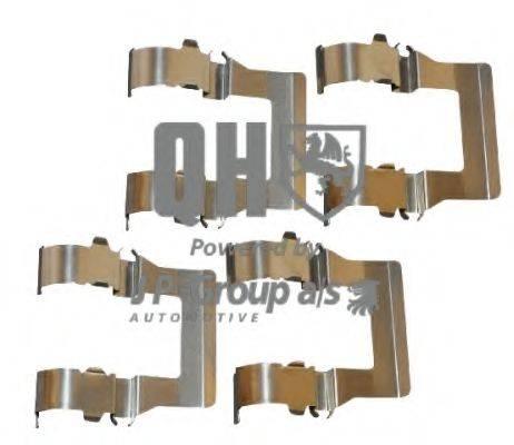 JP GROUP 4163650219 Комплектующие, колодки дискового тормоза