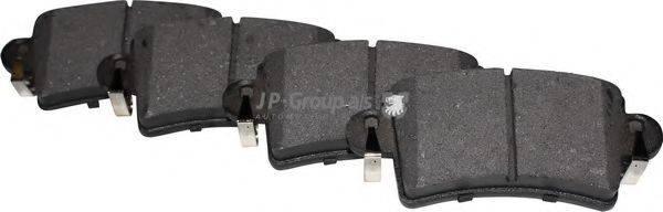 JP GROUP 1263700910 Комплект тормозных колодок, дисковый тормоз