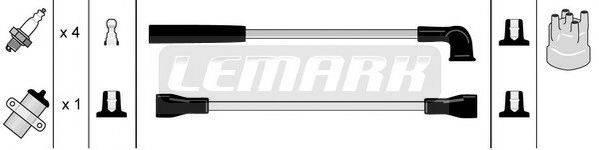 STANDARD LUS505 Комплект проводов зажигания