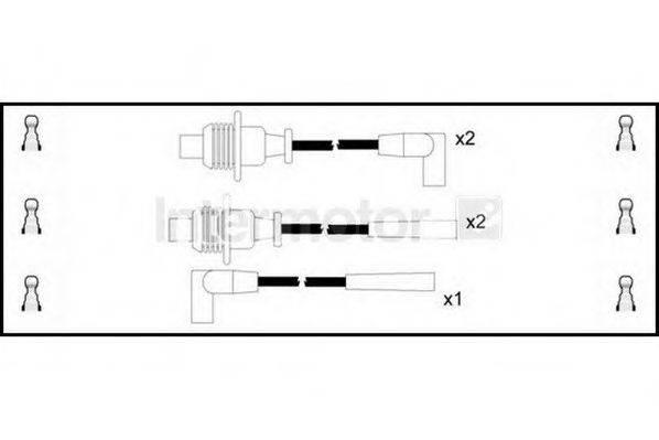 STANDARD 73251 Комплект проводов зажигания