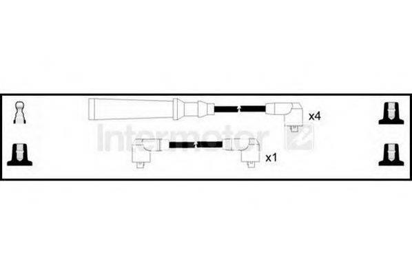 STANDARD 73092 Комплект проводов зажигания