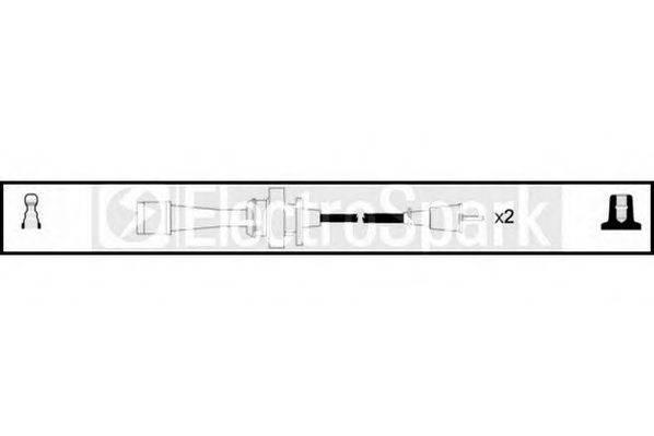 STANDARD OEK781 Комплект проводов зажигания