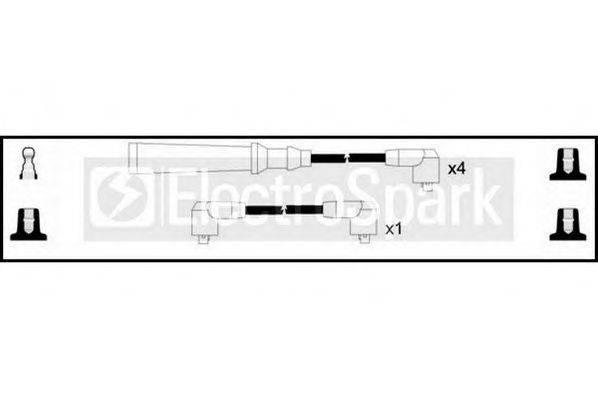 STANDARD OEK572 Комплект проводов зажигания