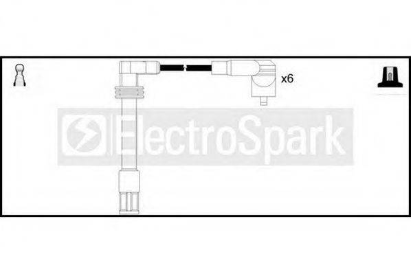 STANDARD OEK402 Комплект проводов зажигания