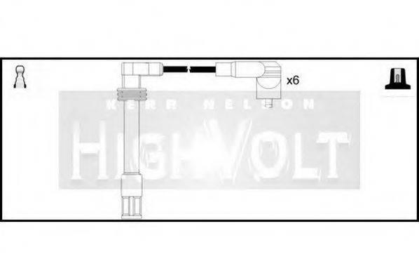 STANDARD OEF476 Комплект проводов зажигания