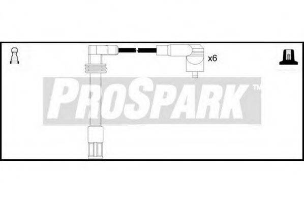 STANDARD OES801 Комплект проводов зажигания