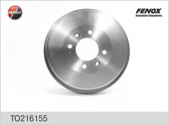FENOX TO216155 Тормозной барабан