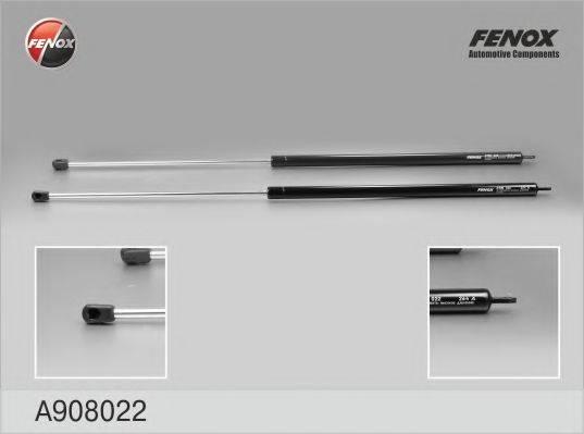 FENOX A908022 Газовая пружина, капот