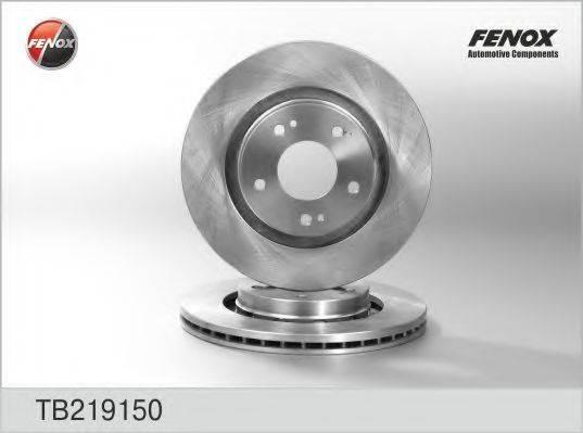 FENOX TB219150 Тормозной диск
