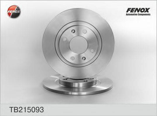 FENOX TB215093 Тормозной диск