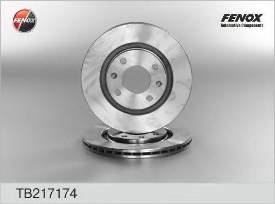 FENOX TB217174 Тормозной диск