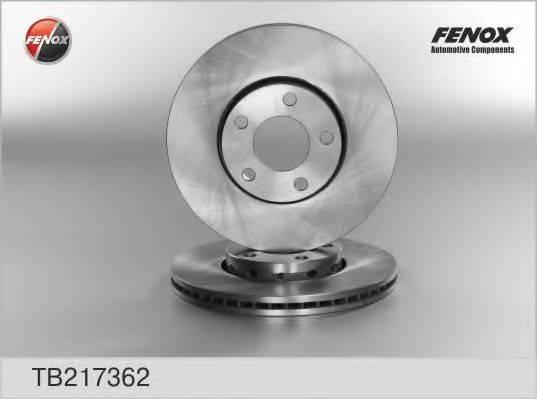FENOX TB217362 Тормозной диск